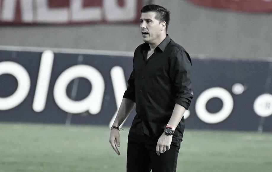 """Juan Cruz Real: """"Cuando recibimos goles o los hacemos es un comportamiento colectivo"""""""