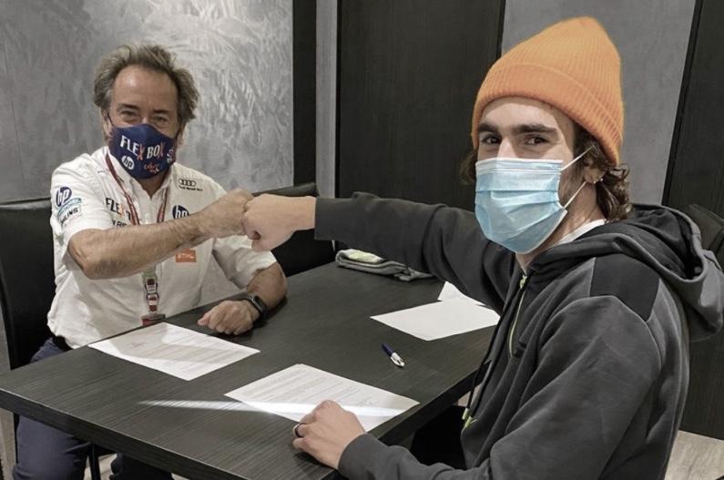 Stefano Manzi y Sito Pons / Fuente: motogp.com