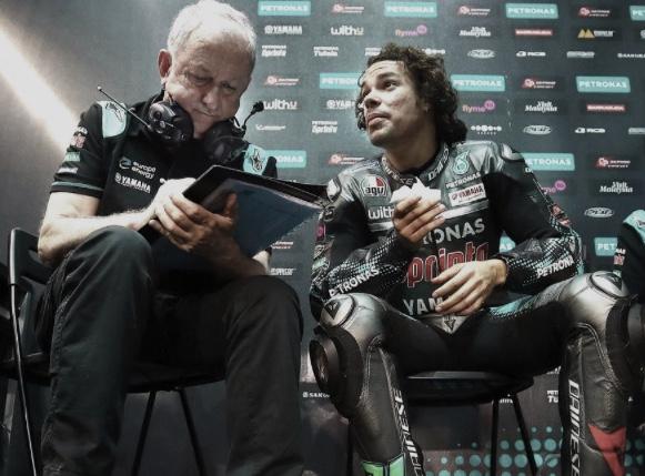 Franco Morbidelli y Ramón Forcada / Fuente: motogp.com