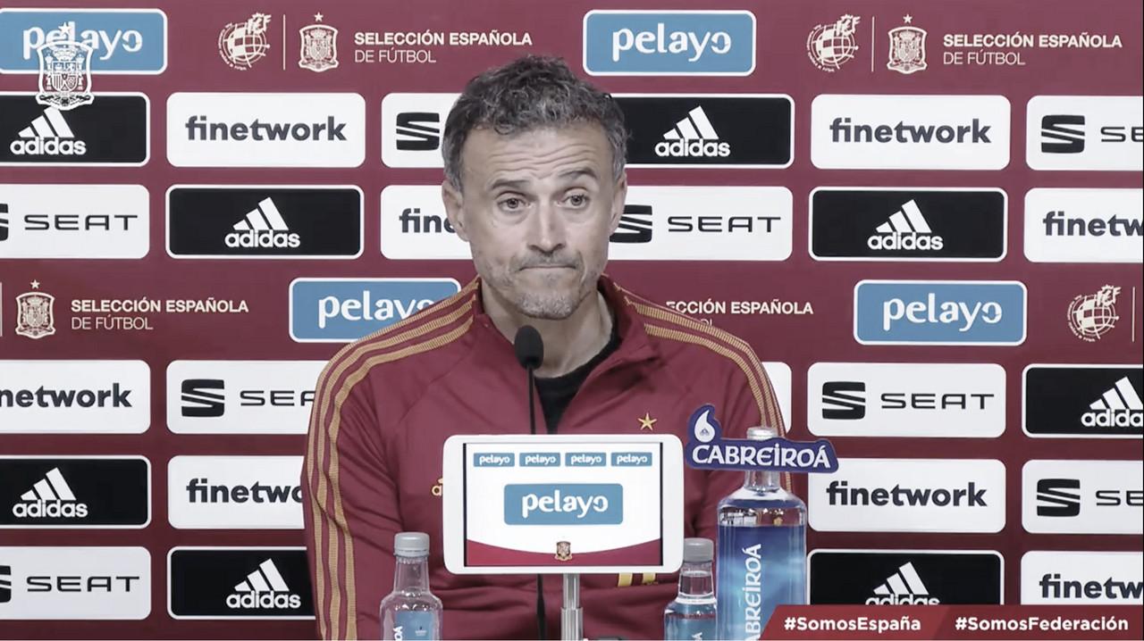 El seleccionador español, Luis Enrique, ha dado a conocer la lista de convocatoria para los próximos encuentros | Foto: @SeFutbol