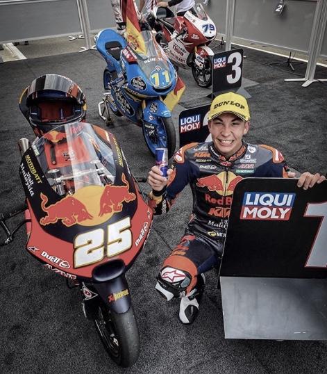 Raúl Fernández victoria en el GP de Europa / Fuente: motogp.com