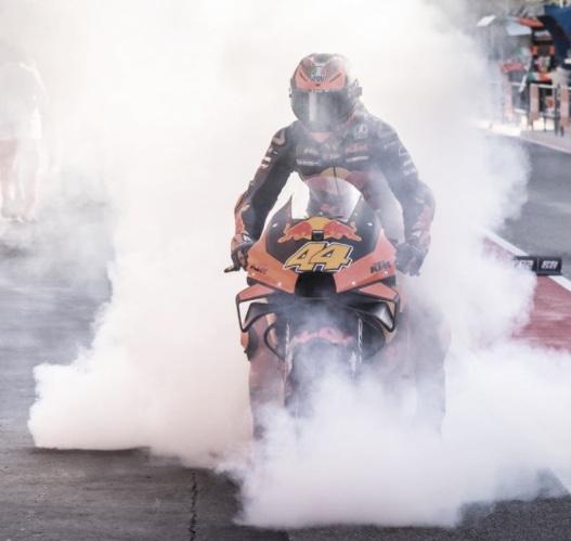 Pol Espargaró se despide de KTM / Fuente: motogp.com