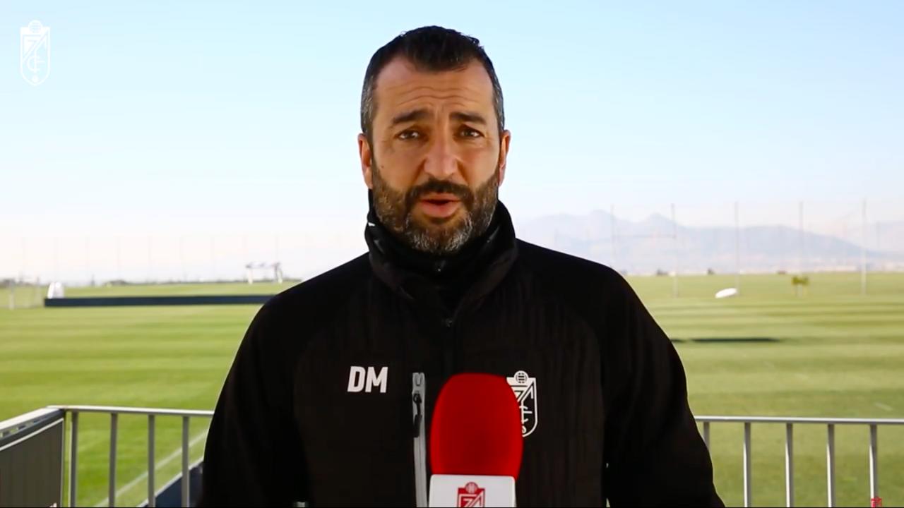 """Diego Martínez: """"Es un derbi con todos los ingredientes de Primera división"""""""