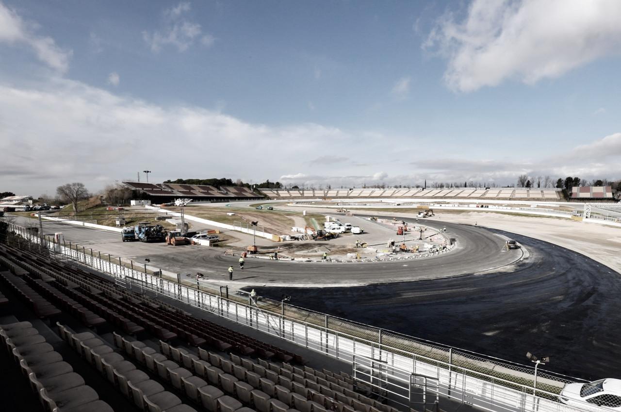 Curva 10 Circuit de Barcelona - Catalunya / Fuente: Instagram Oficial