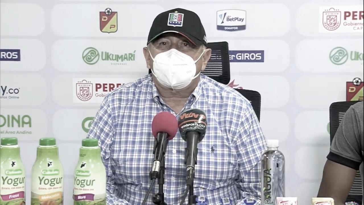"""Eduardo Lara: """"Es imposible subir en la tabla si vamos de error en error"""""""