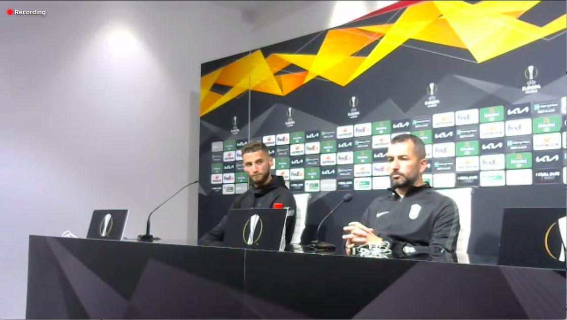 Diego Martínez y Duarte confían en las posibilidades del Granada CF ante el Manchester
