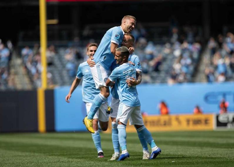 NYCFC 5-0 Cincinnati FC: Five-star hosts breeze past Orange and Blue