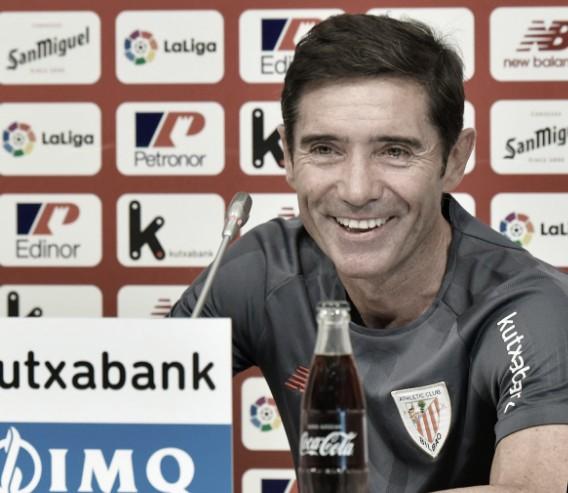 """Marcelino: """"Voy a muerte con mis jugadores"""""""