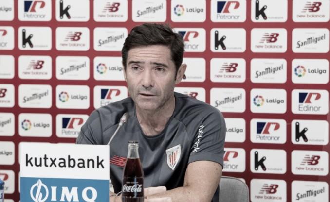 """Marcelino: """"Tendremos que hacer un partido muy completo para ganar"""""""