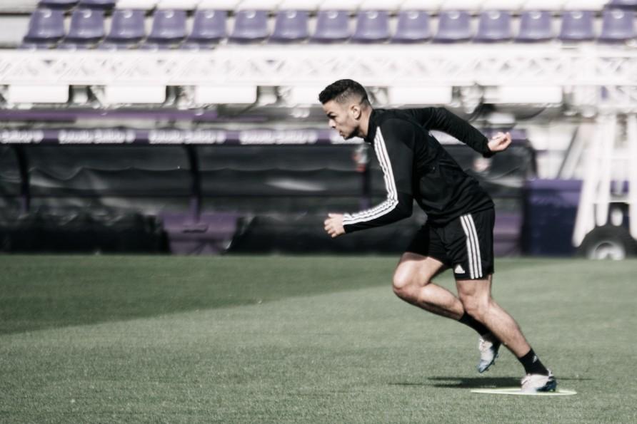 El Real Valladolid completa su primera semana de entrenamientos