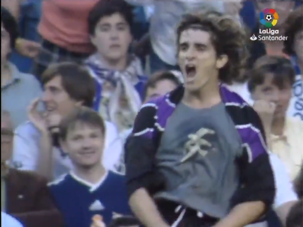 Se cumplen 20 años del gol de Víctor al Real Madrid