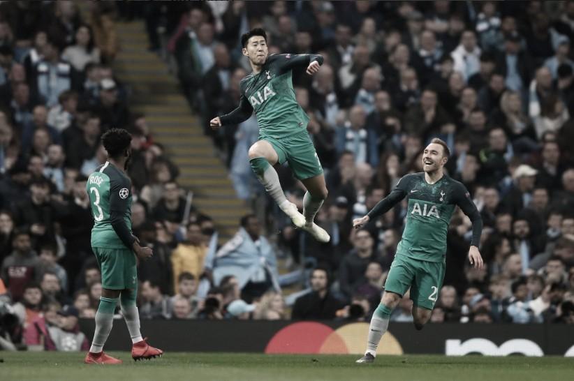 Histórico e emocionante! Tottenham elimina City fora de casa e chega às semis da UCL