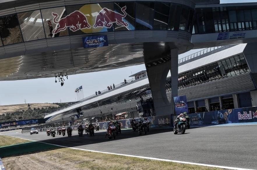 GP Andalucía, el podio al habla: el francés se aleja