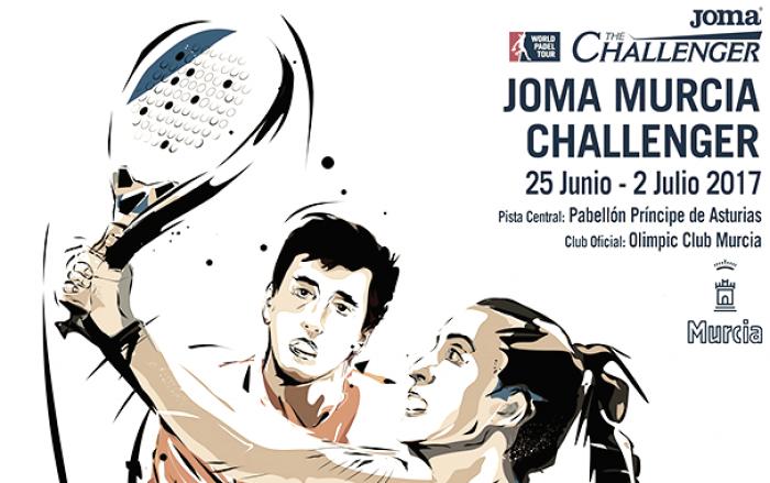 Los favoritos no fallan en la primera jornada del Joma Murcia Challenger