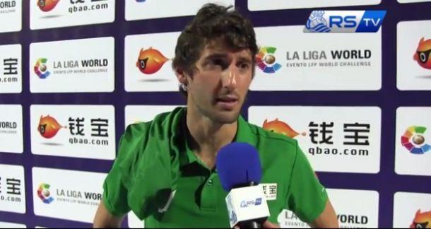 """Esteban Granero: """"El equipo ha hecho un gran esfuerzo"""""""