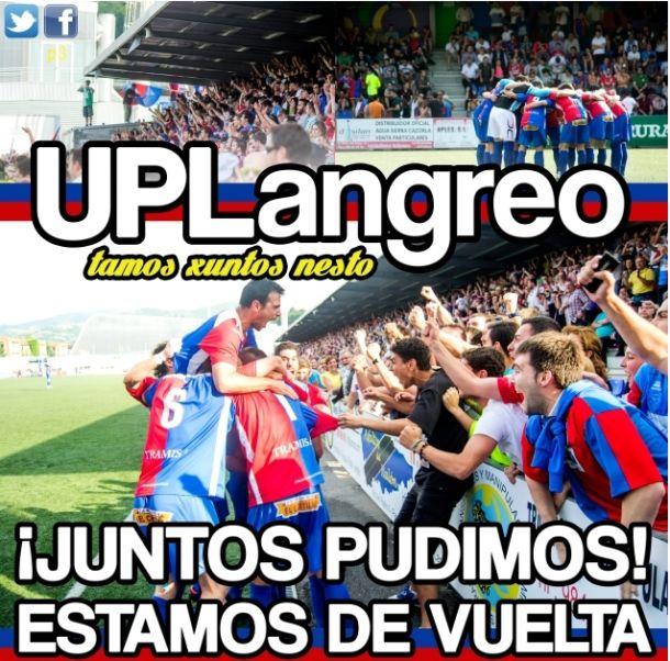 El UP Langreo busca una buena cifra de socios en su regreso a Segunda División B