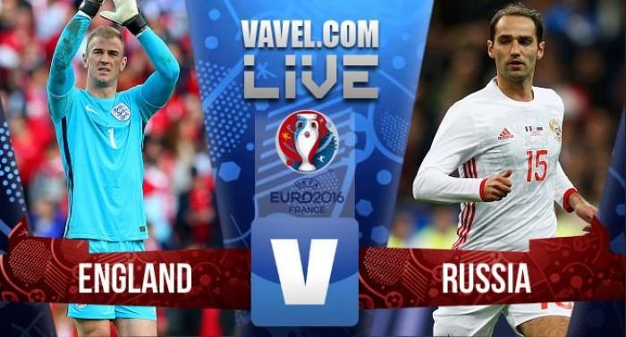 Terminado :Inglaterra x Rússia no Euro 2016 ( 1-1 )
