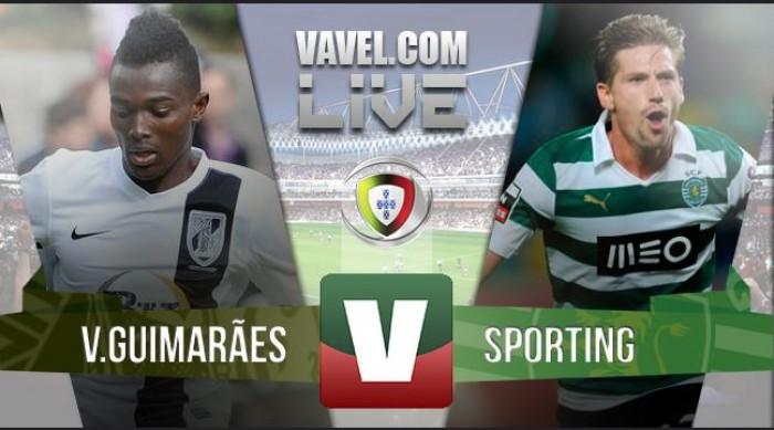 Resultado Vitória de Guimarães x Sporting Liga NOS 2015/2016