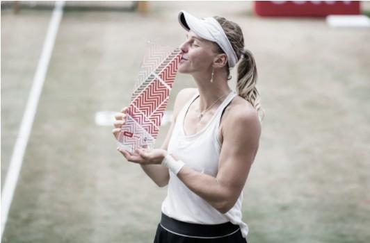 Samsonova derrota Bencic e fatura primeiro título da carreira em Berlim