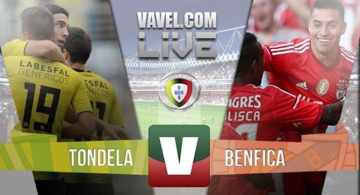 Resultado : Benfica x Tondela Liga NOS 2015/2016 (4-1)