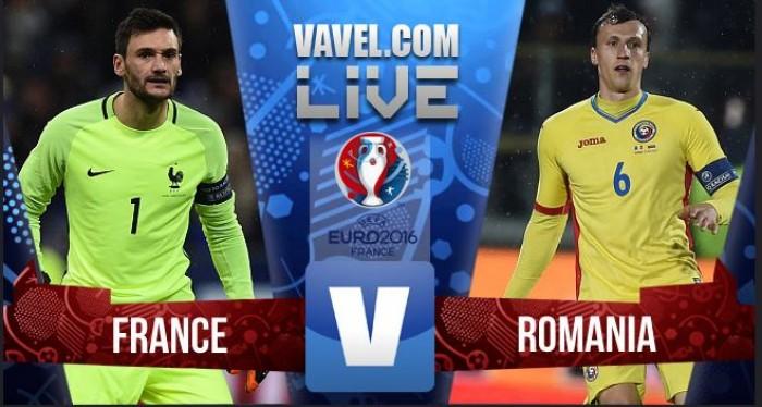 Terminado : França x Roménia (2-1) Euro 2016