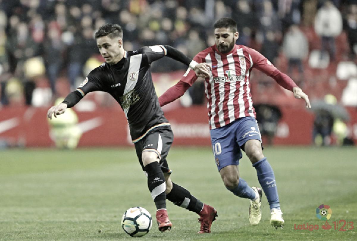 Rayo y Sporting, máximos candidatos al ascenso