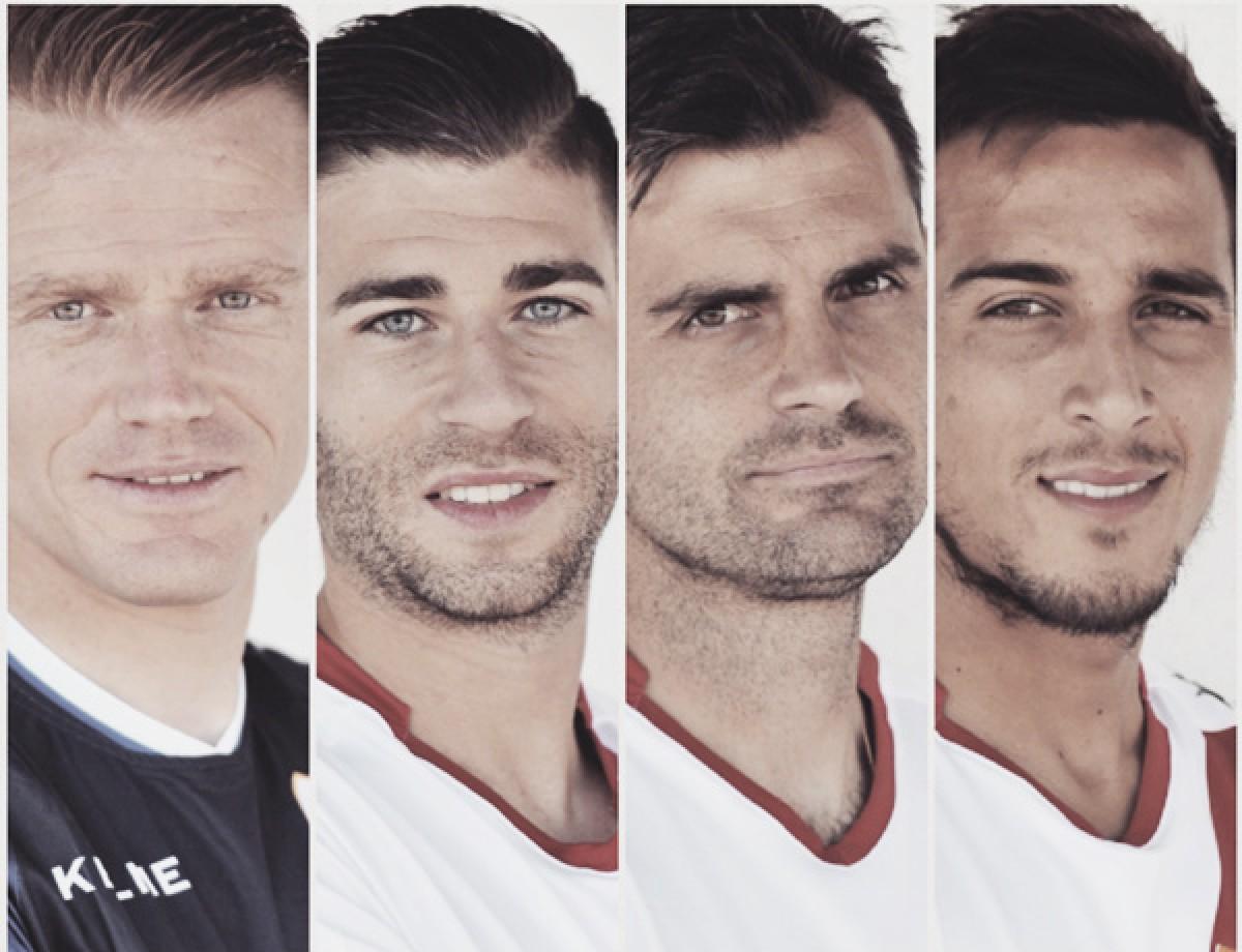 Alberto, Embarba, Dorado y Trejo serán los capitanes