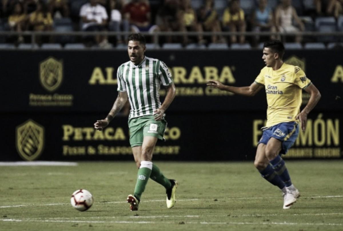 La UD Las Palmas se enfrentó al Betis en la final del Trofeo Carranza. Imagen: udlaspalmas.es