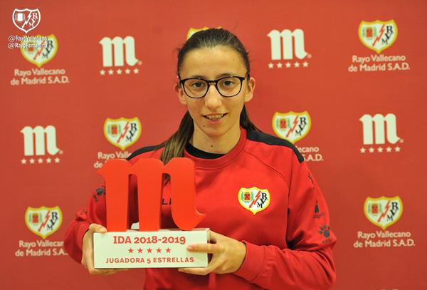 Sheila García, Jugadora 5 Estrellas del primer tramo de temporada