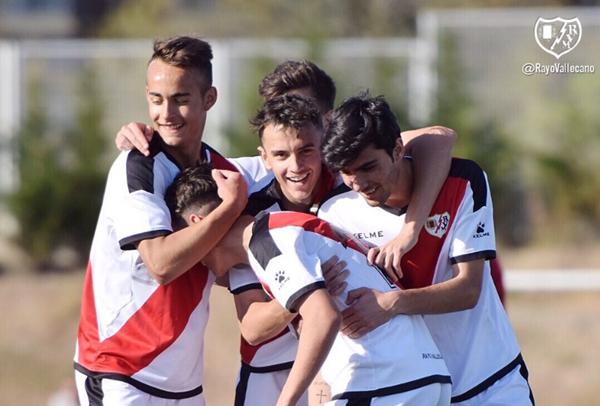 Horarios de los equipos juveniles del Rayo en la primera semana de abril