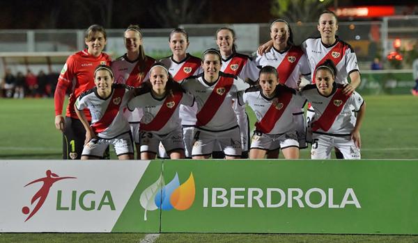 Horarios de los equipos femeninos y el Rayo B el sábado 13 de abril