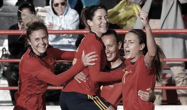 La Selección Española femenina calienta motores ante Japón