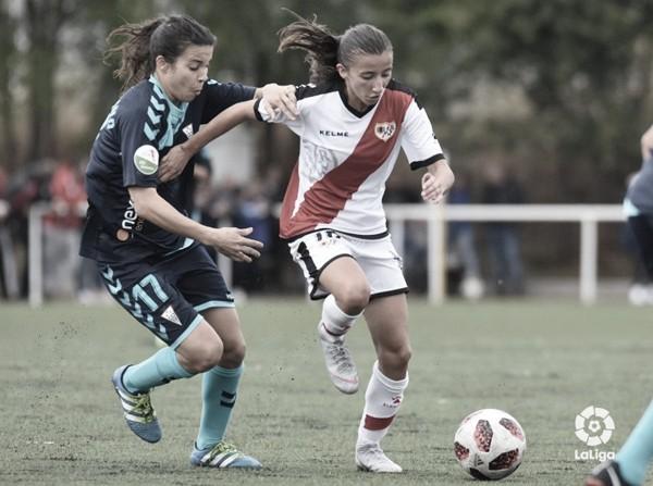Sheila García renueva con el Rayo Femenino