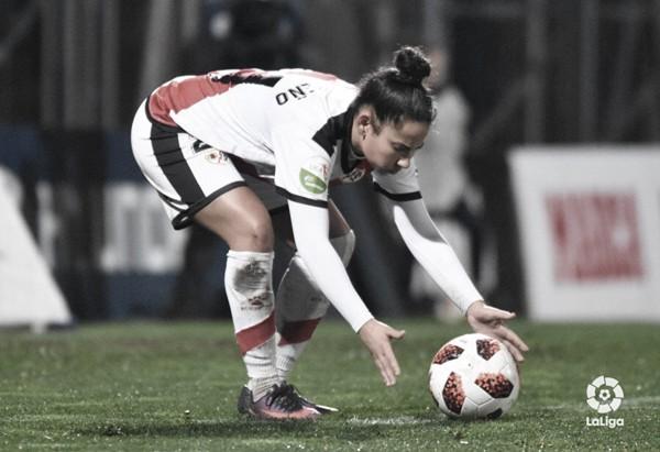 Raquel Carreño se despide del Rayo Vallecano