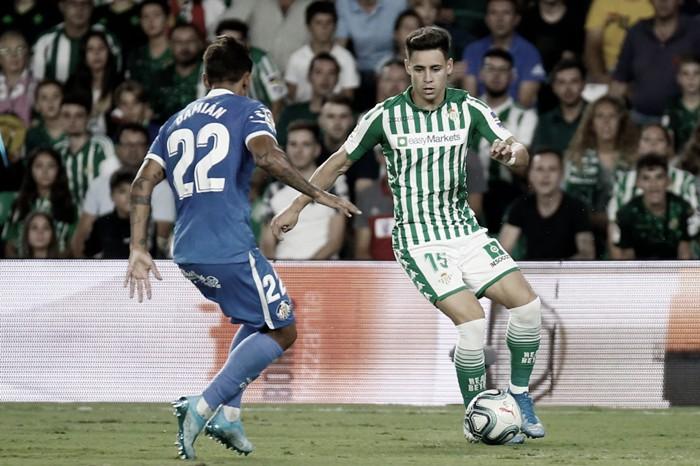 Álex Moreno alcanza los 50 partidos en Primera División