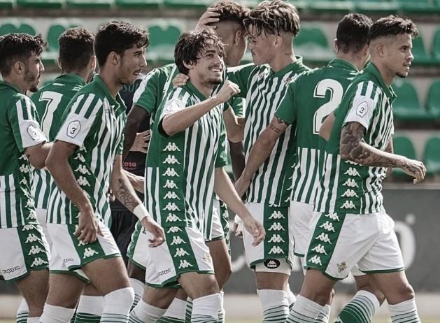 Horarios de la cantera del Real Betis (18-20 octubre)