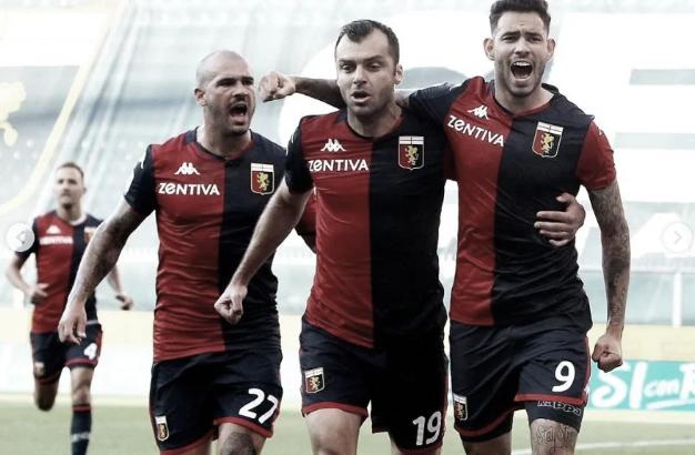 Sanabria vuelve al Betis tras salvar al Genoa