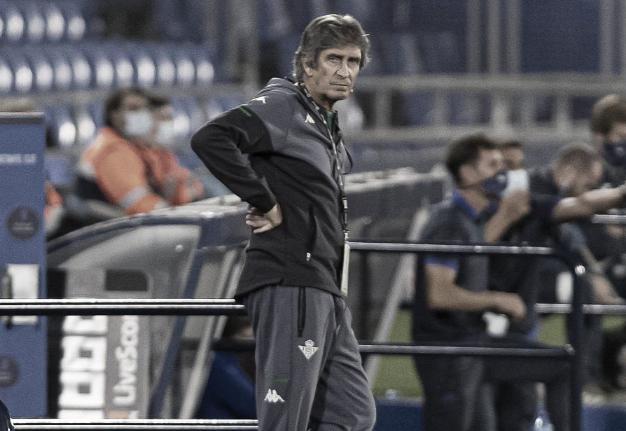 Pellegrini durante un partido | Fotografía: LaLiga