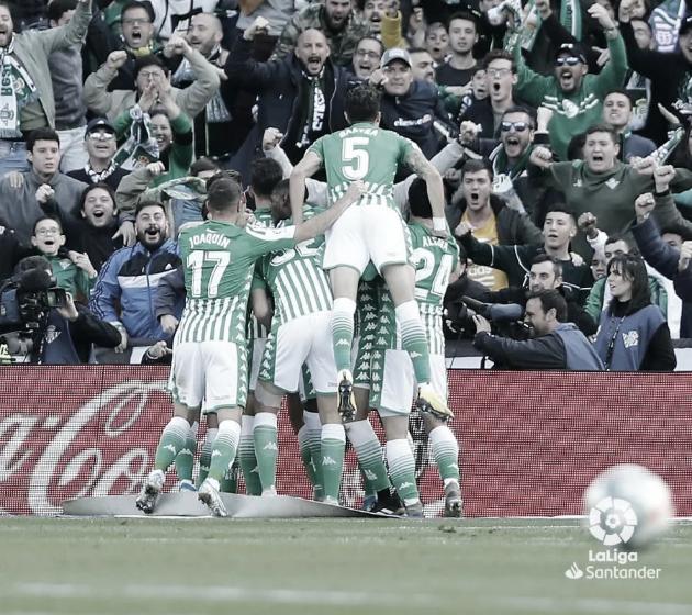 Momento del Real Betis-Real Sociedad de la temporada 19/20 - Foto de LaLiga