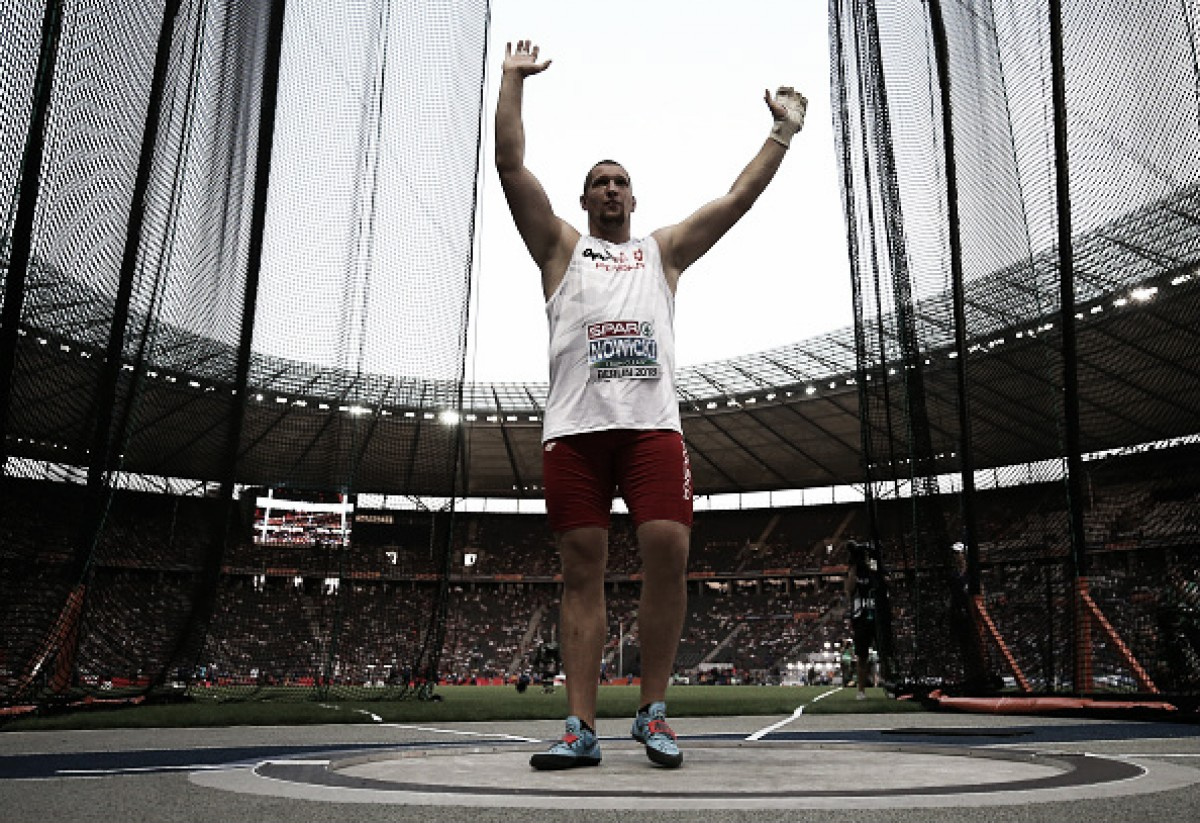European Athletics Championships: Poland make it a one-two with Hungary's Bence Halasz taking home the bronze