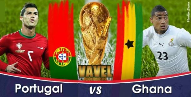 Live Portugal - Ghana, la Coupe du Monde 2014 en direct