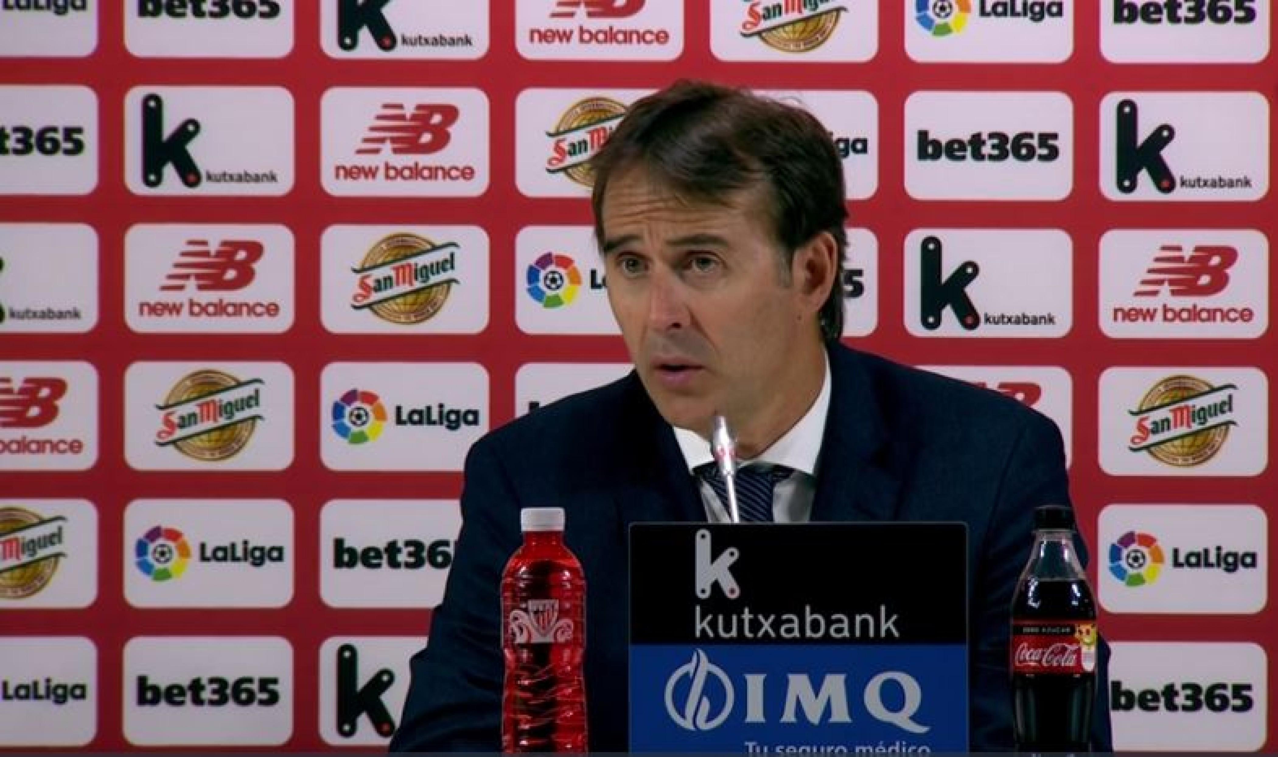 """Lopetegui: """"Nos ha faltado meter un gol más que el rival"""""""