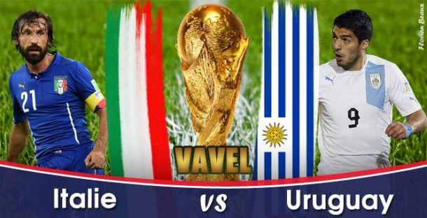 Live Italie - Uruguay, la Coupe du Monde 2014 en direct