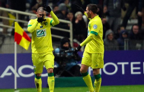 Nantes sort le leader et accède aux huitièmes