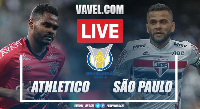 Gols e melhores momentos Athletico 1 x 1 São Paulo pelo Campeonato Brasileiro