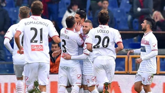 Risultato Carpi - Udinese in Serie A 2015/16 (2-1): decidono Pasciuti e Lollo, accorcia Zapata