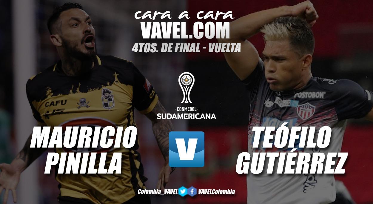Cara a cara: Mauricio Pinilla vs Teófilo Gutiérrez