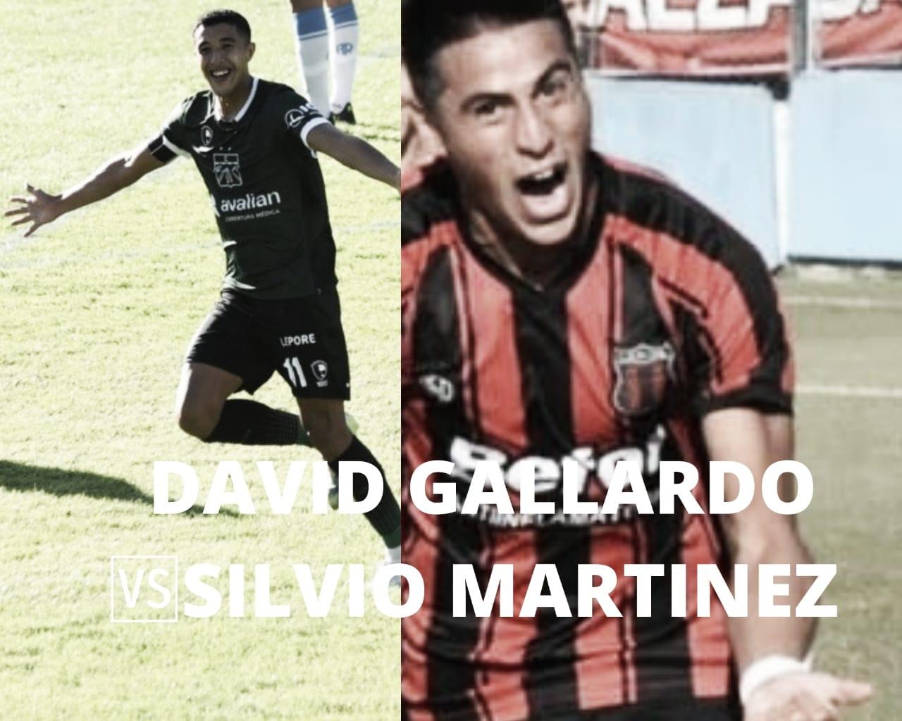 David Gallardo vs Silvio Martínez: Goles y juego