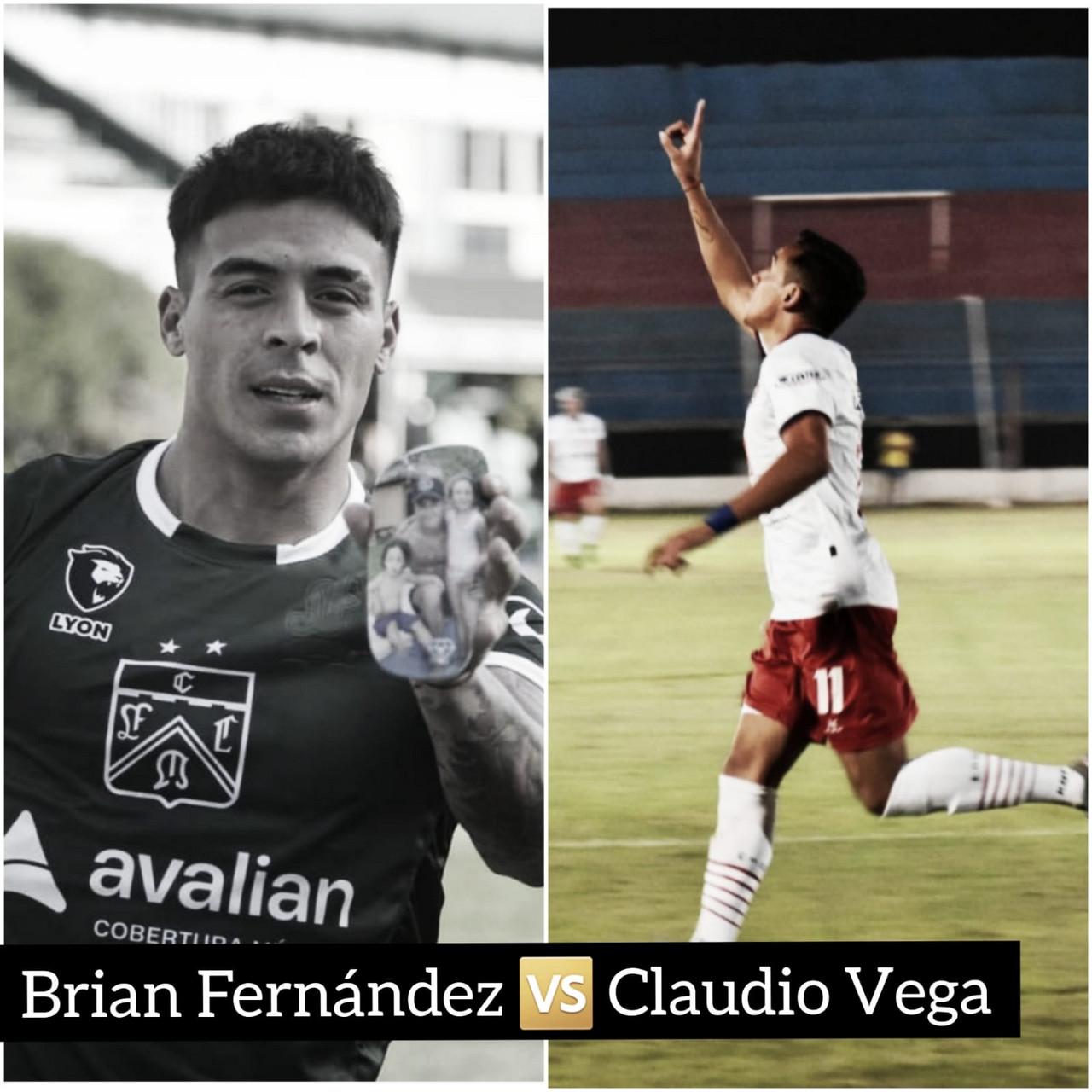Brian Fernández vs Claudio Vega: los ojos en los goleadores