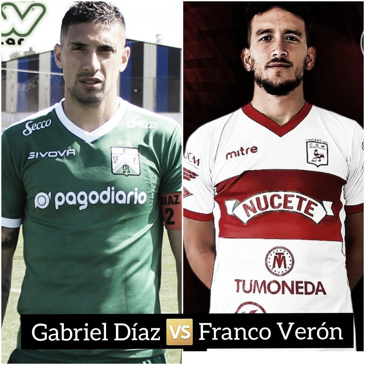 Gabriel Díaz vs Franco Verón: los líderes de la defensa